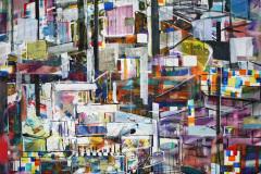 urban scène 06 154x161cm 2015