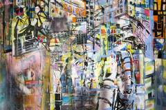 subway tremble 177x130cm 2012